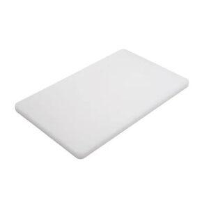 Доска разделочная 400x300x10 мм белая