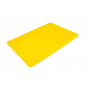 Доска разделочная 400x300x10 мм желтая
