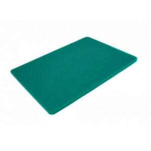 Доска разделочная 400x300x10 мм зелёная