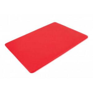Доска разделочная 400x300x10 мм красная