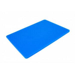 Доска разделочная 400x300x10 мм синяя