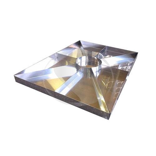 Сварной лоток для витрины 1250x950x50